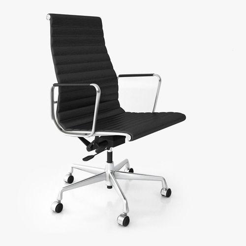 Vitra Aluminium Office Chair Ea 119 3d Cgtrader
