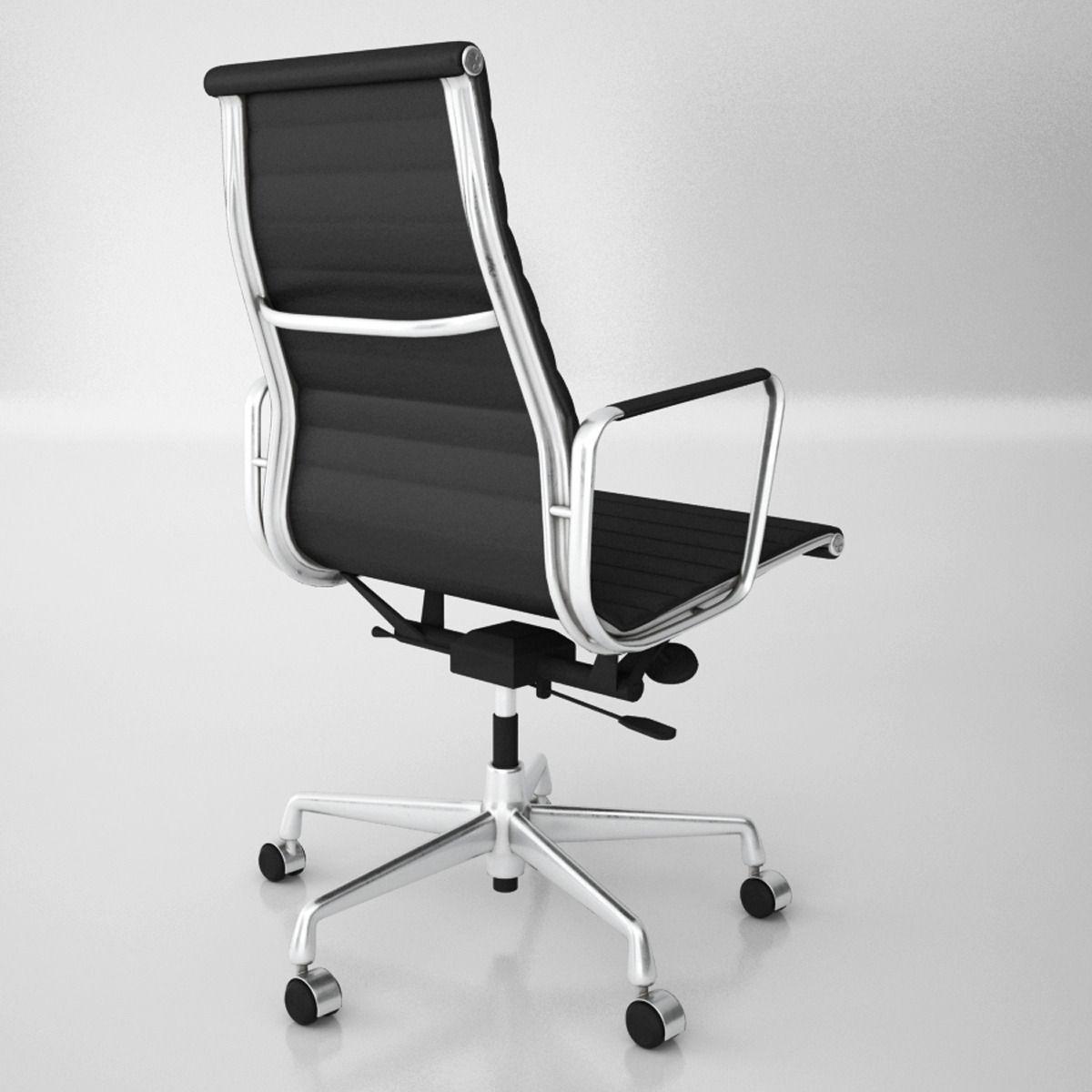 Vitra Aluminium Office Chairs Model Max Obj Mtl Fbx 4