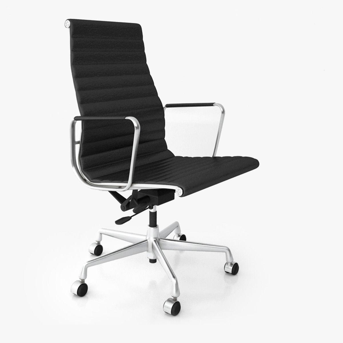 Vitra Aluminium Office Chairs 3d Model Max Obj Fbx 2
