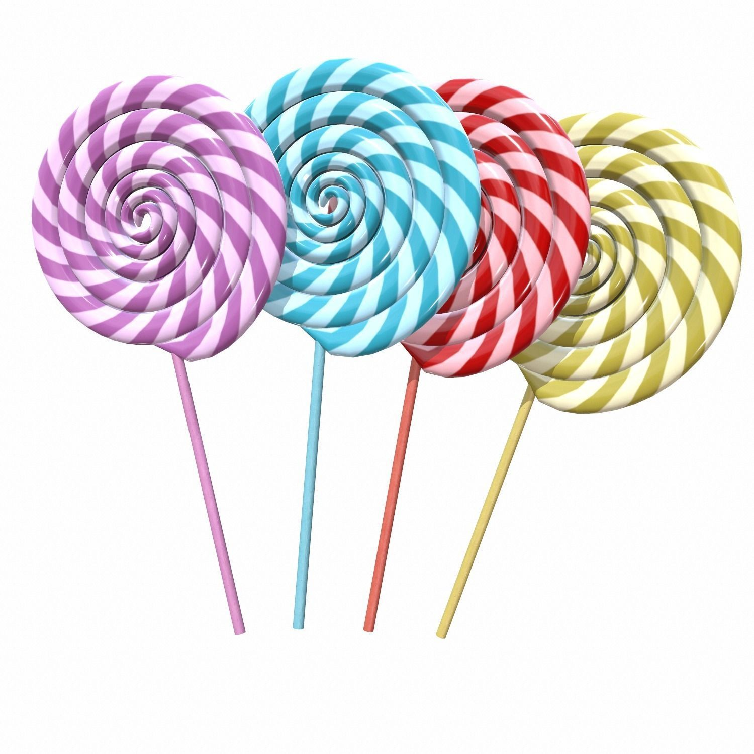 Christmas swirl lollipop