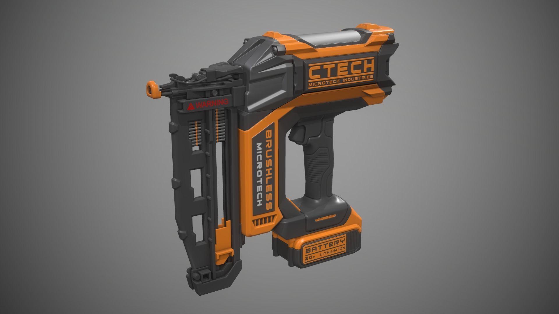 Nail Gun Battery Powered