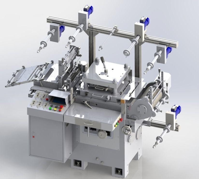 WA300G-Die Cutting machine