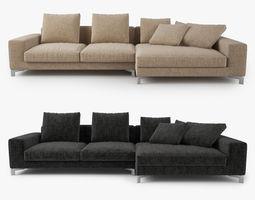 Busnelli Take it Easy Sofa Corner 3D