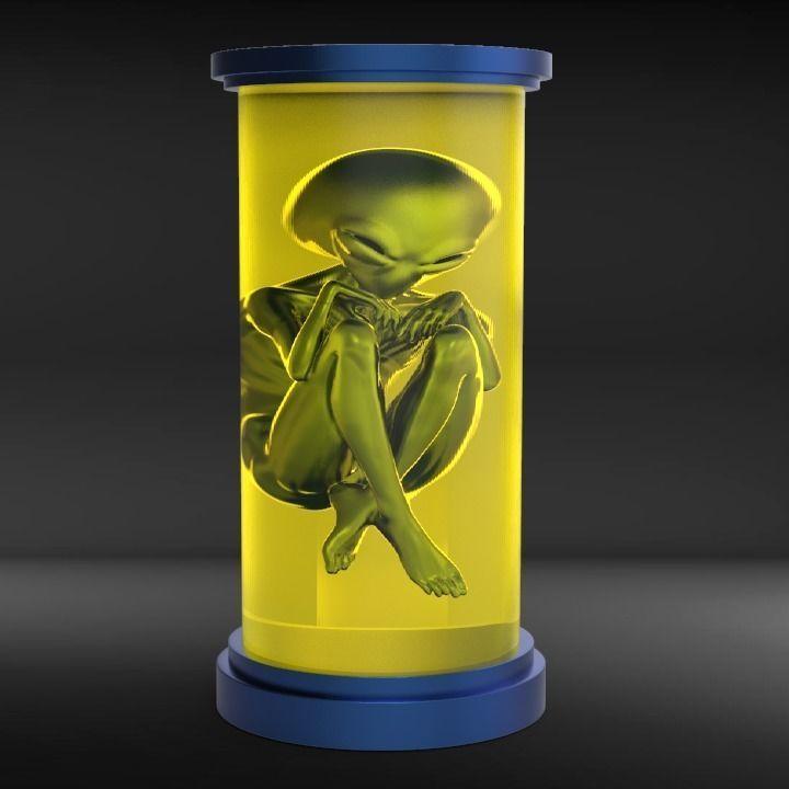 Alien in a Jar