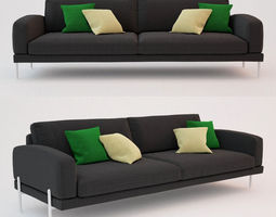 3d model  ire armilla sofa