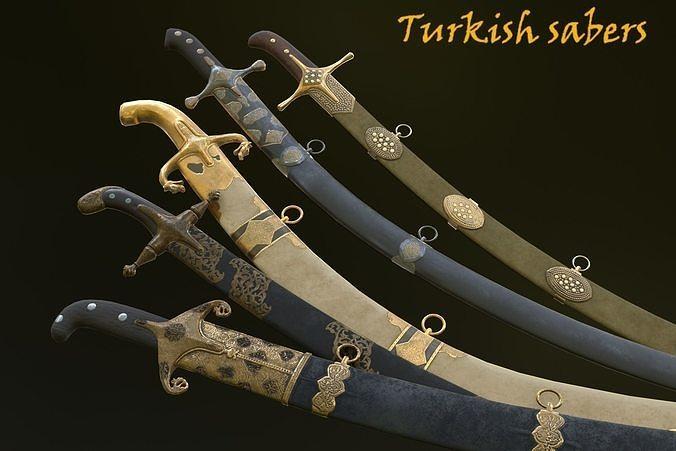 Turkish sabers