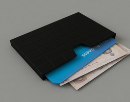 wallet slab 3d printable model