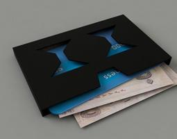 Wallet Razor 3D print model