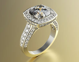 prototyping Engagement Ring 3D printable model