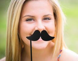 Mustache Mustache Stick 3D print model