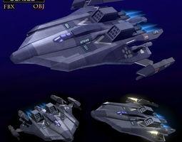 Bomber LP 3D model