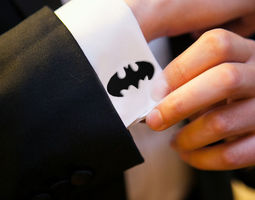 3D print model Batman Cufflinks