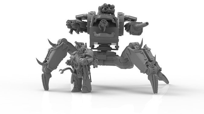 Despoiler War Engine - Defiler of Worlds