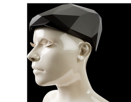 LowPoly Newsboy Hat 3D print model