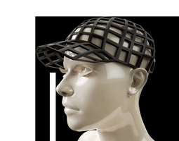 Baseball GLS Cap 3D print model