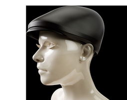 newsboy hat 3d print model