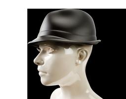 3D printable model Trilby Hat