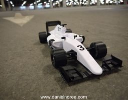 openrc formula 1 car 3d printable model