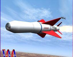 3d model agm-379 zoobin missile