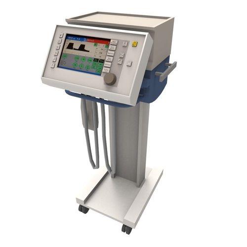 evita respiratory cart 3d model fbx ma mb 1