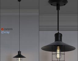 loft design spl-1 pendant lamp 3d