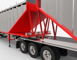 Rail hopper 3D asset