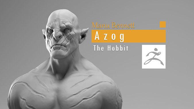 Manu Bennett - Azog the defiler - The Hobbit
