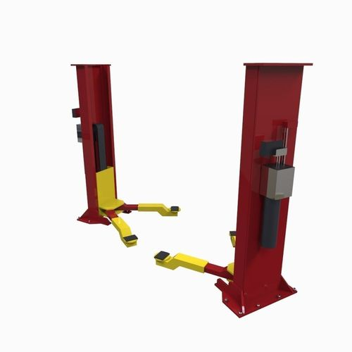Hydraulic Lift Concept : D model hydraulic lift vr ar low poly fbx ma mb