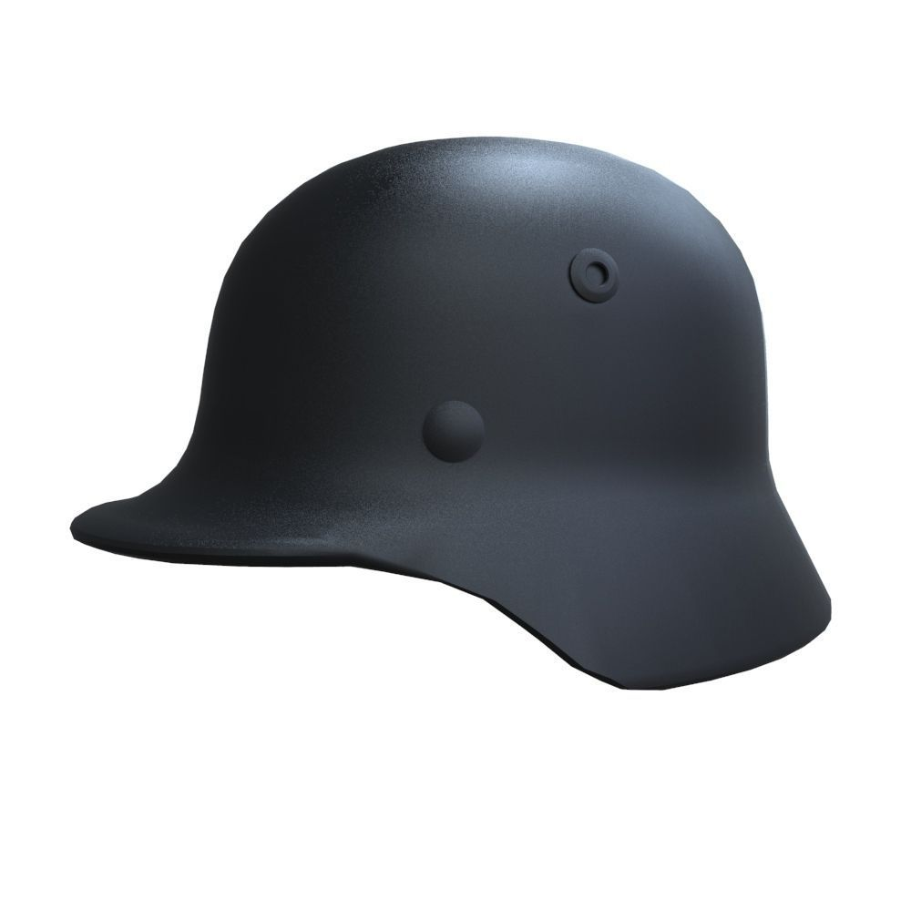 M 35 German Helmet 3d Model Fbx Ma Mb 2