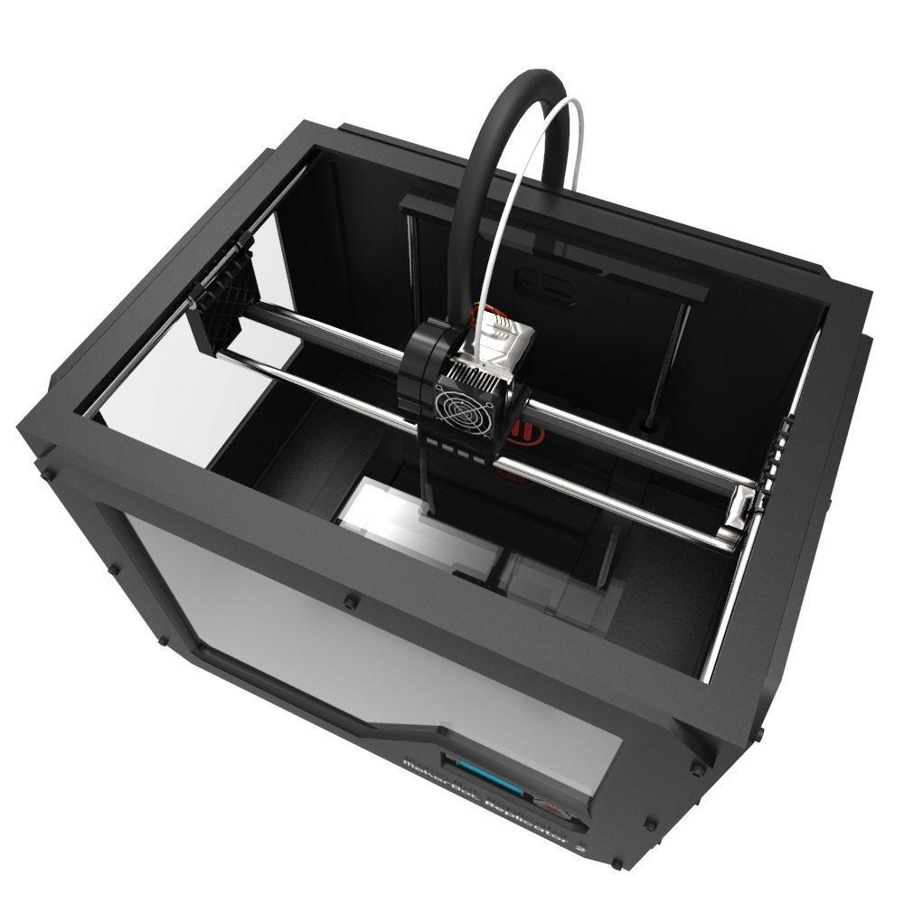 3d Model Makerbot 3d Printer Vr Ar Low Poly Fbx Ma Mb