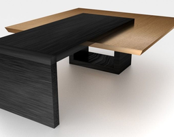 Table 3D asset game-ready