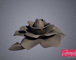 Decorative Flower 1 3D