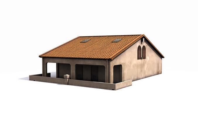 Hut model house
