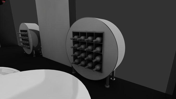 Exhibition Stand Designer Job Description : Adco exhibition stand design d model animated