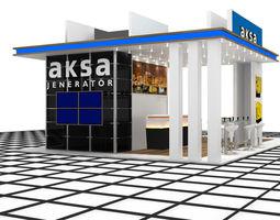 3d aksa jenerator exhibition design
