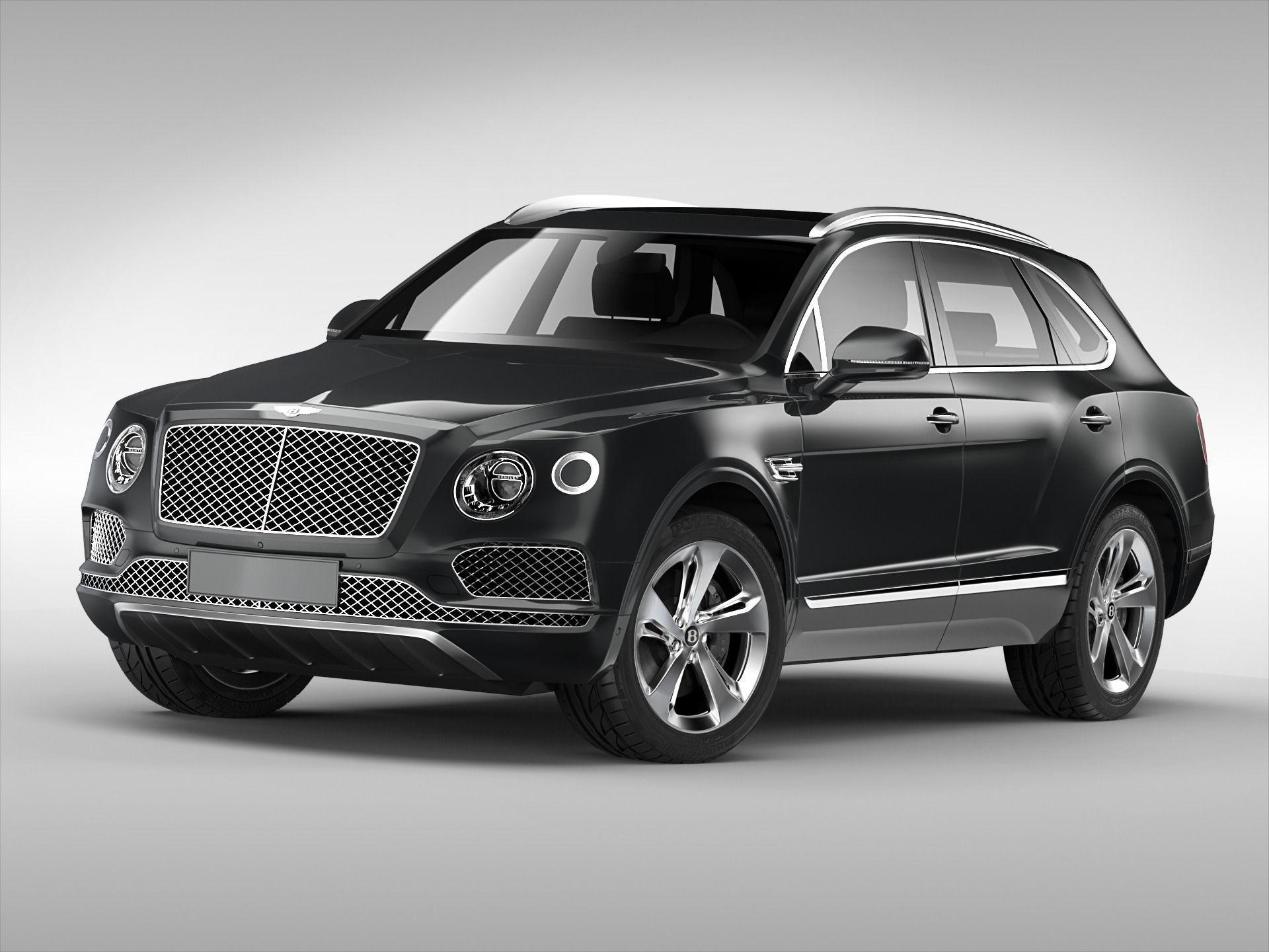 Bentley Bentayga 2017 Model