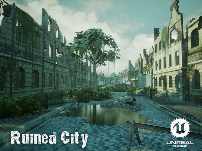 Ruined City Unreal Engine