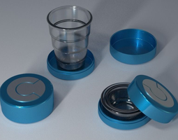 folding cup 3d printable model