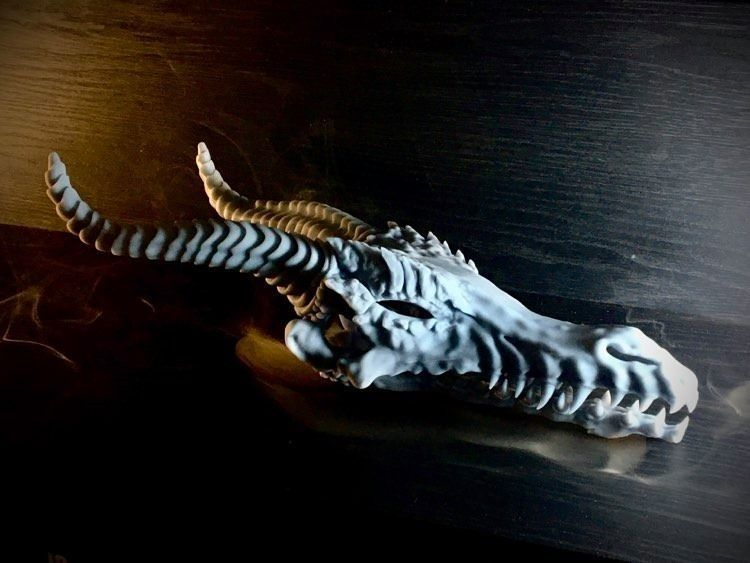 Dragon Skull - Pre-supported STL