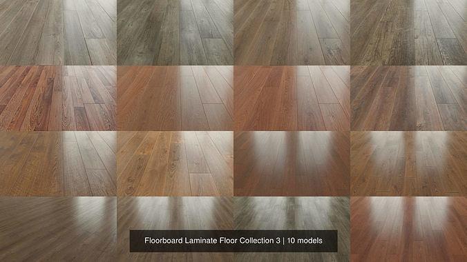 Floorboard Laminate Floor Collection 3, 3d Printed Laminate Flooring