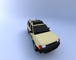 Nissan Xterra 99 3D model