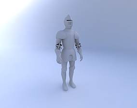 3D Knight-in-Shining-Armor