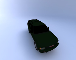 GMC Jimmy 95 with texture 3D model