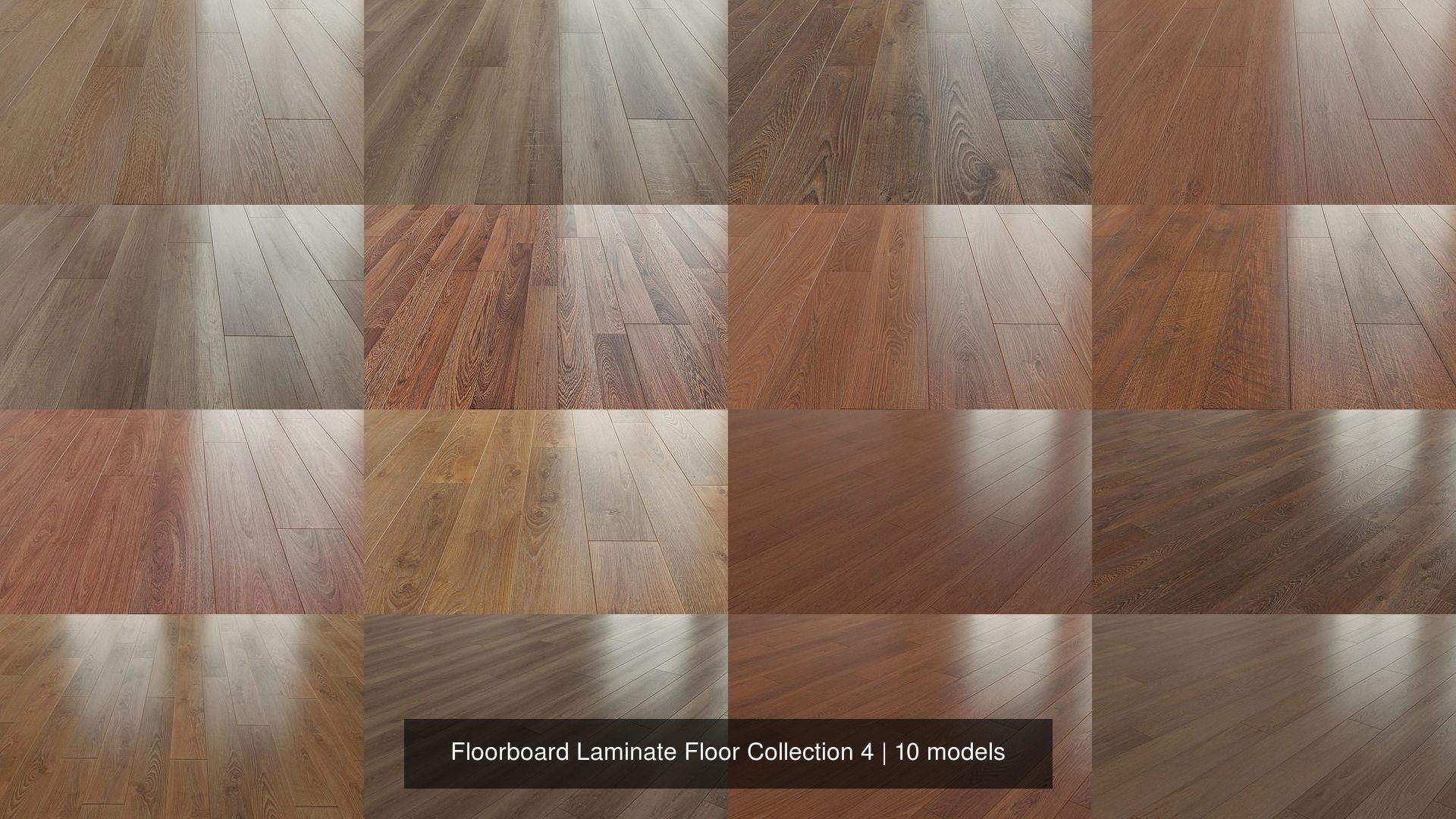 Floorboard Laminate Floor Collection 4, 3d Printed Laminate Flooring