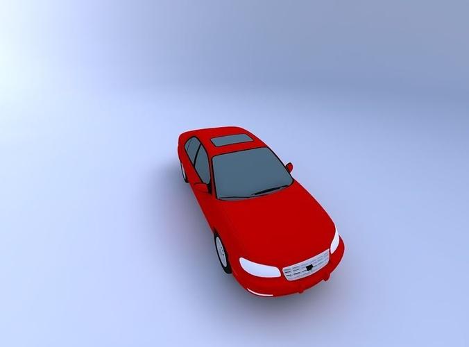 3D Cadillac Catera 99