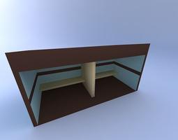 3D model Bus-Stop-Shelter