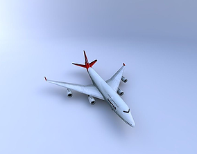 3D model Boeing 747 Aircraft