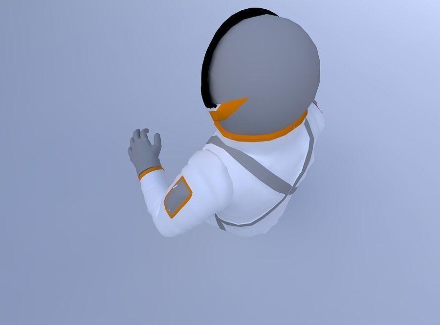 Astronaut_w_texture 3D Model OBJ | CGTrader.com