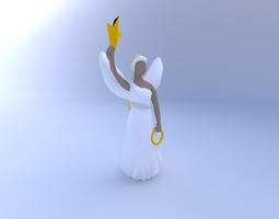 3d model angel4