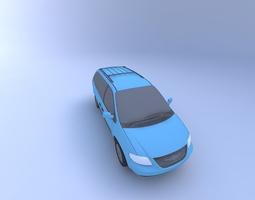 2002 Chrysler Town Country LX Minivan 3D